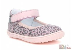 Туфли для стильной девочки в интересный принт Bartek