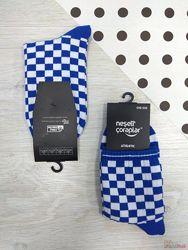 Шкарпетки високі Athletic Шахмати синие р.37-43 Neseli Coraplar