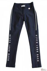 Лосины темно-синего цвета для девочки A-yugi Jeans