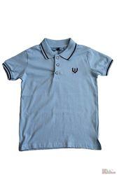 Поло голубого цвета для мальчика A-yugi Jeans