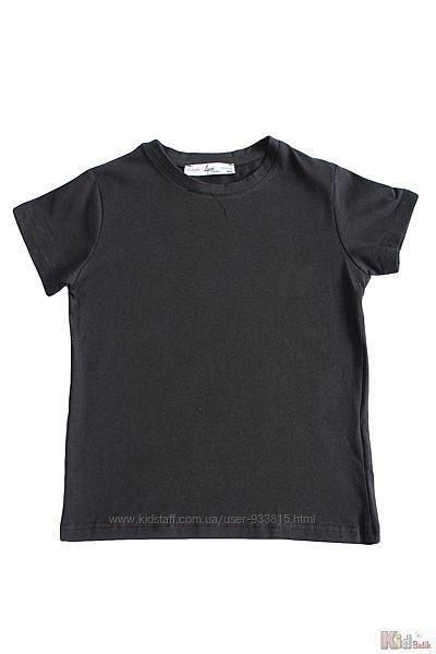 Футболка черного цвета с коротким рукавом A-yugi Jeans
