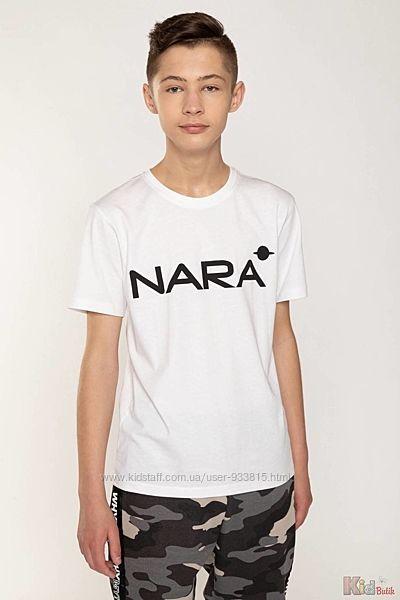 Футболка белого цвета NARA для мальчика-подростка Reporter Young