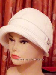 Шляпка  ретро стиль  из натуральной кожиТурция