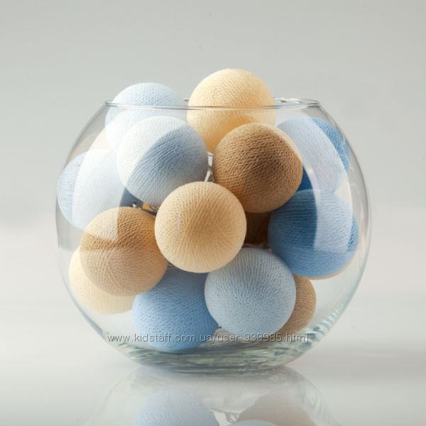 Гирлянда Soft Blue Pastel 20, 35 и 50 шт