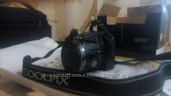 фотоаппарат NIKON CoolPix L820 полный комплект  сумка  акку