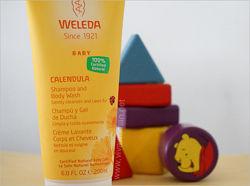 Детский шампунь-гель для волос и тела Weleda