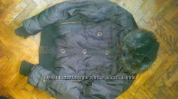 Курточка весна-осень с натуральным мехом
