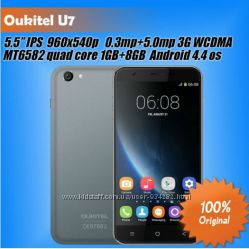 Oukitel U7 5. 5  смартфон MTK6582 копия Apple iPhone 6 Plus