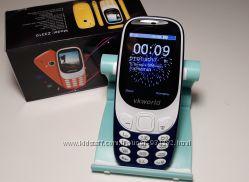 Nokia 3310 new 2017 год vkworld 2. 4 2 СИМ Bluetooth с MP3 Камера 2 мп