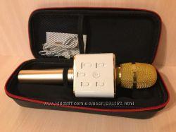 Беспроводной караоке микрофон колонка Bluetooth с динамиком. TUXUN Q7 PRO
