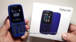 Мобильный телефон Nokia 105 Dual SIM 2019 новая модель дешево