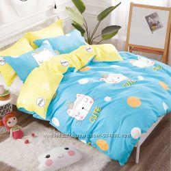 детский комплект постельного белья в кроватку Вилюта сатин