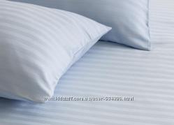 Подушка Жаккард 40х40 , 50х50 , 50х70 , 70х70 белая в полоску