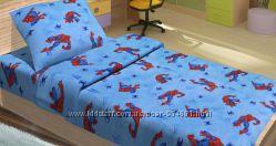 Постельное белье для подростков Lotus Young - Spiderman Active ранфорс
