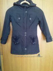 Куртка плащик на весну для девочки 7-8 лет