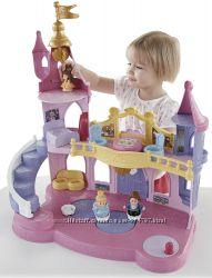 Fisher Price Disney замок принцесс игровой кукольный домик