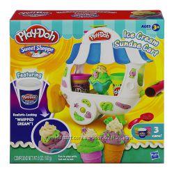 Play-Doh Sweet Shoppe Ice Cream Sundae Cart Магазинчик мороженного