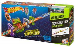Hot Wheels Swamp Strike Трек Болотная забастовка лягушка