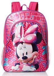 Оригинал Disney Minnie Mouse Рюкзаки Дисней 40 см