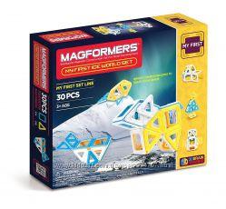 Magformers Магнитный конструктор 30 деталей Мой первый ледяной мир
