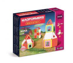 Magformers Магнитный конструктор Построй дом 50 эл