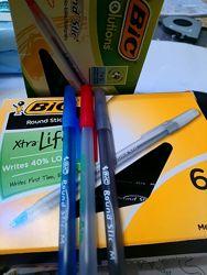 Ручка шариковая BIC Xtra Life Синяя Черная Красная