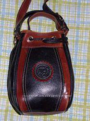 Кожаная сумка кросс боди Gomez.