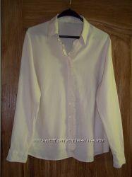 Блуза бежевая 18 р, большой размер
