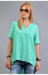 Легкая летняя блуза, есть большие размеры