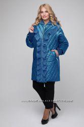 Удлиненная  куртка больших размеров, 50-60 р
