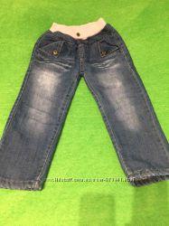 Теплые джинсы на меху меховушки KK RABBIT 5 р