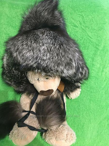 Новая шапка из чернобурки , не крашена
