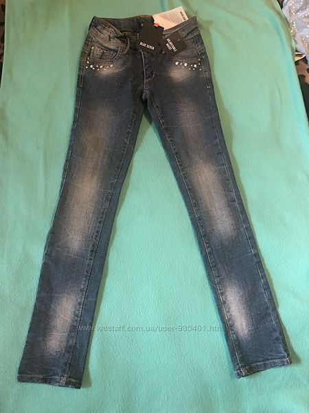 Новые джинсы скини Blue Seven 10  134 рост