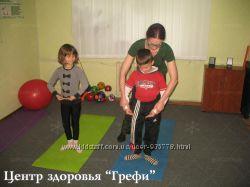 Оздоровительно  развивающая спортивная секция для детей