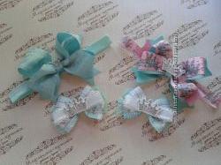 Бантики, повязочки для принцессок