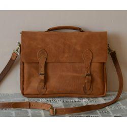 чоловічі сумки та портфелі з натуральної шкіри