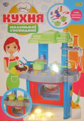 Кухня Маленькой хозяюшки, свет, музыка Limo Toy