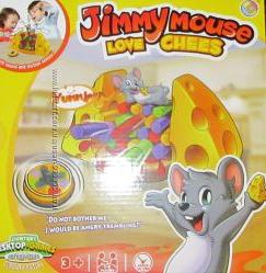 Jimmy mouse любит сыр