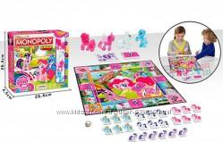 Настольная игра 4003 LP, Монополия, лошадки, игровое поле, карточкиангл