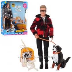Кукла Defa Кен с собакой 8429
