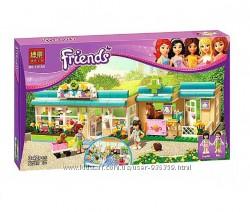 Конструктор Bela 10169 Friends Клиника для животных аналог Lego Friends 31