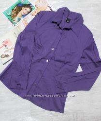 Стильная фирменная рубашка s. oliver размер s