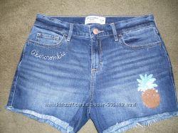 Шорты джинсовые Abercrombie Kids