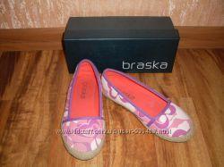 Балетки текстильные BRASKA для девочки