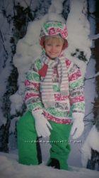 Зимний термокостюм ICEPEAK, р. 128 куртка  комбинезон