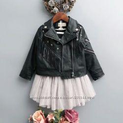 Стильная курточка для модниц на рост 100-120см