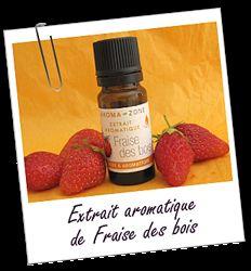 В наличии Aroma Zone натуральный ароматический экстракт клубники