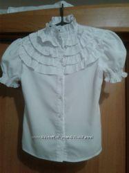 Школьная блузка р. 146