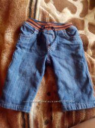 Утепленые джинсы на мальчика 0-3мес