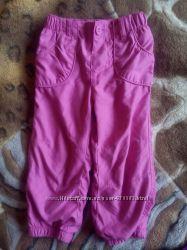 Спортивные штаны на подкладке для девочки 1-2. 5г, рост 80-92см